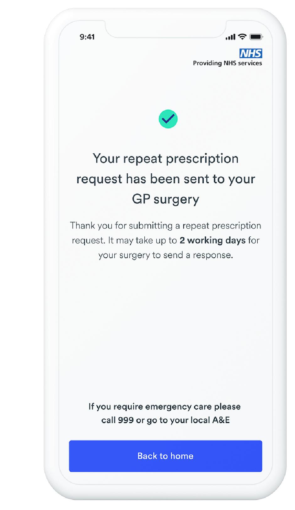 repeat prescription mock
